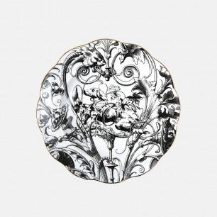 哥特主题圆盘-狗 | 古典风格之美