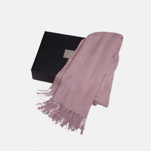 羊毛羊绒混纺围巾 | 纯色简约 经典百搭【多色】