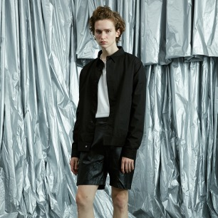精纺天丝宽松衬衫外套 | 独立设计师品牌 原创设计
