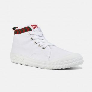 FxxK OFF高帮帆布鞋 | 街头潮流系列 释放你的态度