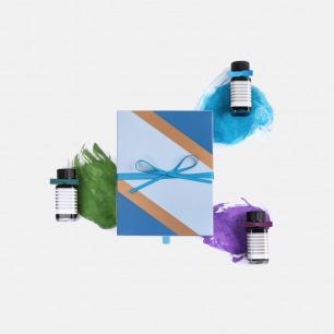 三瓶装墨水礼盒 | 颜色饱满 色彩斑斓【多色】