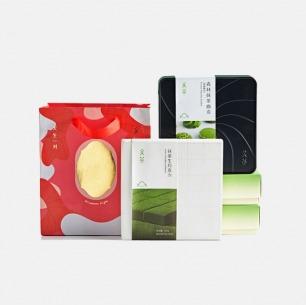 抹茶生巧+抹茶曲奇礼盒套装 | 精选日本茶道优质抹茶 比利时白巧