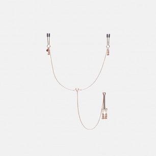 五十度飞系列 链条乳头阴蒂夹 | 巧妙的连接链设计 享受私密处疼痛快感