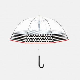 当代波点直柄鸟笼伞【洛杉矶】 | 都市元素提炼 透明伞面尽享美式情调