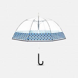 几何直柄鸟笼伞【拉斯维加斯】 | 都市元素提炼 透明伞面尽享美式情调