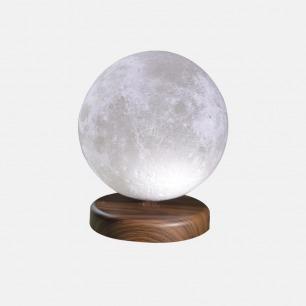 磁悬浮月球灯 | 磁悬浮3D打印无线供电 超越地心引力