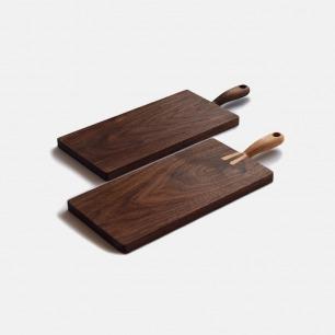 「山舍」尾巴砧板 | 尾巴把手方便拿取  整块木制作而成