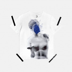 男士维纳斯印花刺绣T恤 | 原创设计师品牌 舒适透气 柔软不变形
