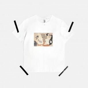 男士浮世绘春画T恤 | 原创设计师品牌 舒适透气 柔软不变形