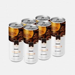 果味气泡咖啡饮料 6连包   埃塞俄比亚原产地咖啡豆原液萃取