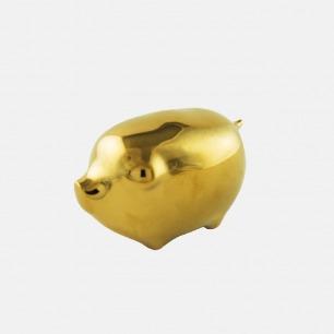 十二生肖黄金瓷器摆件   时髦又有艺术感的装饰
