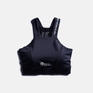 美背运动文胸 黑色款 | 背后网纱设计 美背又透气