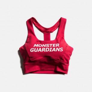 美背运动文胸 红色款 | 工字型后背设计 美背立显