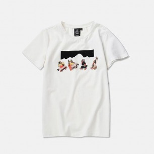 民族风冈仁波齐T恤 两色 | 藏系原创印花 男女同款