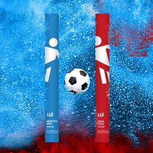 世界杯限定能量雾化棒礼盒 | 清凉薄荷+可乐口味搭配
