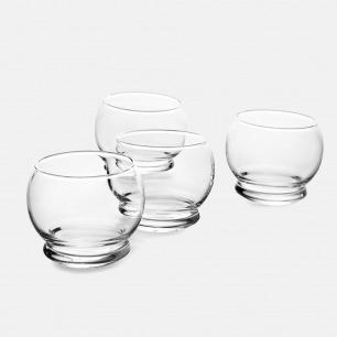 北欧简约玻璃酒杯x4 | 用它喝酒都觉得很高级