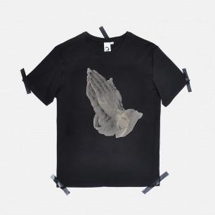 男士丢勒祈祷的手 T恤   原创设计师品牌 舒适透气 柔软不变形