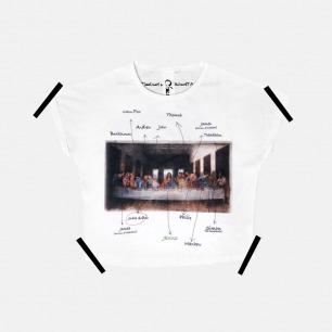 女士最后的晚餐T恤 | 原创设计师品牌 舒适透气 柔软不变形