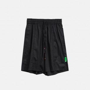 涂层工艺廓形五分短裤 | 独立原创设计师品牌