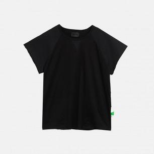 全棉罗马袖短袖tee | 独立原创设计师品牌