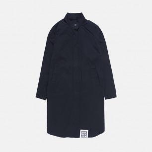 立领落肩长款风衣外套 | 独立原创设计师品牌