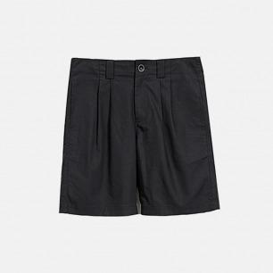 隐藏式插袋双打褶西装短裤 | 独立原创设计师品牌