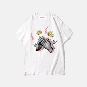西方经典系列 手 纯棉T恤 | 艺术家联名款 趣味印花