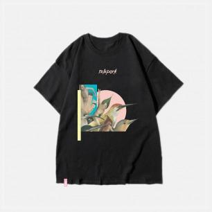 西方经典系列 鸟 纯棉T恤 | 艺术家联名款 趣味印花