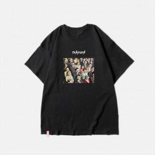 new world纯棉T恤 | 艺术家联名款 黑白两色