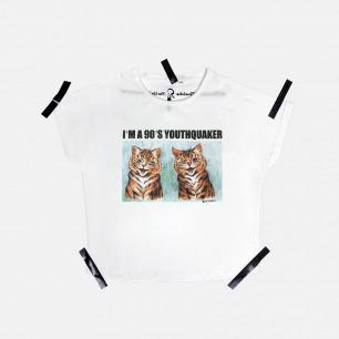 女士Louis Wain born in 90's 猫咪T恤 | 原创设计师品牌 不撞衫