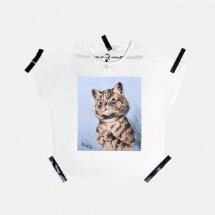 女士 Louis Wain Cat Peter T恤   原创设计师品牌 不撞衫