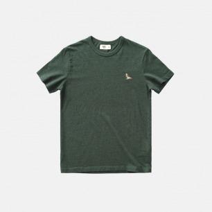 男士花纱圆领T恤-麻雀 | 印花原创设计 舒适透气