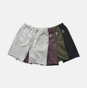 男士毛边针织卫裤-葫芦 | 原创设计 舒适透气