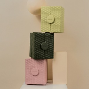 墨镜收纳盒 可伸缩设计   外观设计优雅 共三款颜色