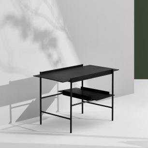 KANSO 边桌 | 金属与木的东方美学风格