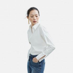 优雅白衬衫 工作休闲百搭款   进口高支棉面料 精致裁剪