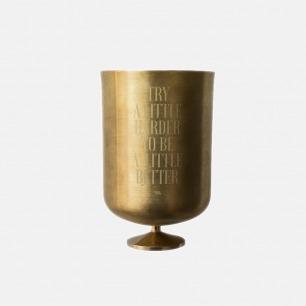 黄铜多功能杯/香薰蜡烛罩 | 质感轻奢 家居装饰多用途