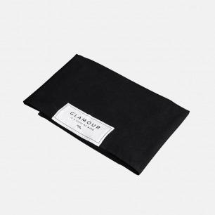 经典黑色苎麻桌布 | 天然纤维 可作桌布或床品