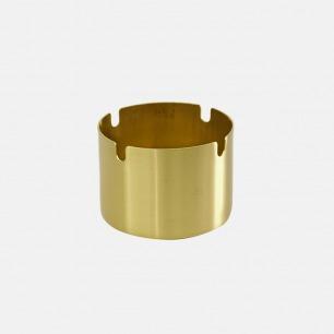 复古笔筒烟缸 | 黄铜质感,精致时尚