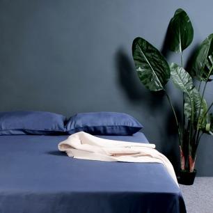 雨沐蓝桉床单枕套三件套 | 适合亚洲女性的天然家纺材质