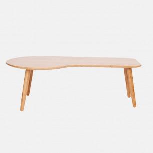 云朵形茶几 竹制轻巧小桌子 | 组装简便 家中随心摆放