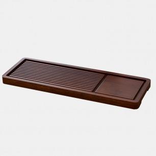 古典风竹制茶盘 小巧优雅 | 重竹工艺打造 古朴有美感