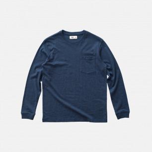 长绒棉长袖T恤-多色 | 素色设计 经典百搭