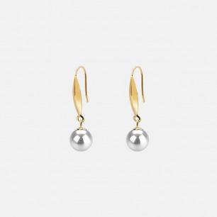 日本珍珠18K金耳坠 | 天然海水珍珠 奢华优雅