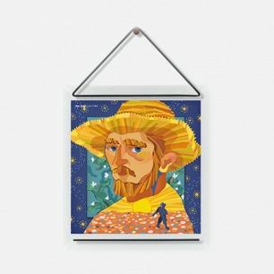 波普艺术织物装饰画 | 萨尔瓦多·达利、大卫·鲍伊、安迪·沃霍尔、草间弥生、蒂姆·波顿可选