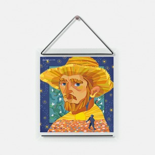 波普艺术织物装饰画 | 萨尔瓦多·达利、大卫·鲍伊、安迪·沃霍尔、草间弥生可选