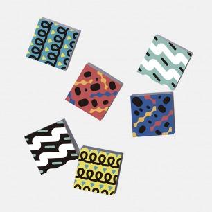 波普艺术笔记本 | 6种彩色波普封面 3本组合装