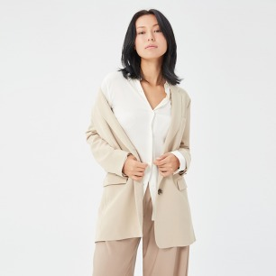 休闲西装外套 宽松显瘦   经典舒适又百搭 时尚慵懒