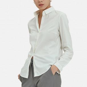 极简干净 基础百搭棉衬衫   穿不腻看不厌 款式经典