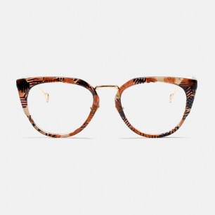 CELLE 平光镜-多色 | 改良猫眼框型 修饰脸型